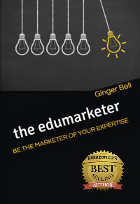 the edumarketer book cover with Amazon logo 2